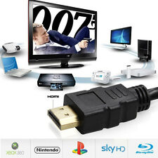 HDMI Cable V1.4 3D High Speed with Ethernet HEC Full HD 1080p Gold Plated 2M