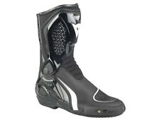 Dainese TR Course Out Motorcycle Boots black white Racing Sport aggresive