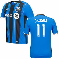 adidas Montreal Impact MLS 2016 Didier Drogba # 11 Soccer Home Jersey Royal Blue