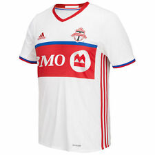 adidas Toronto FC MLS 2016 Soccer Away Jersey Brand New White / Red / Royal