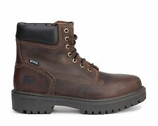 "Timberland Pro 6"" Work Boots Direct Attach Soft Toe Oiled Brown 38020"