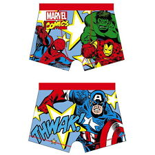 NEW OFFICIAL Marvel Comics Boys Boxer Shorts Boxers / Pants / Trunks / Underwear