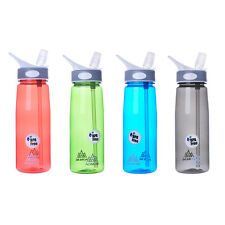 Fashion 750ml Outdoor Sport Portable Camping Cycling Travel Water Drink Bottle