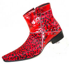 XL132 CLEVIS Men Dress Fashion Shoe Red Boot