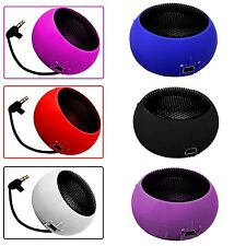 3.5MM PORTABLE CAPSULE BLACK SPEAKER FOR SAMSUNG GALAXY CORE PRIME SM-G360