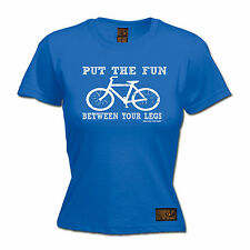 Ride Like The Wind  Put The Fun Between Your Legs WOMENS T Shirt cycling