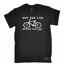 Put The Fun Between Your Legs T-SHIRT tee cycling jersey funny birthday gift