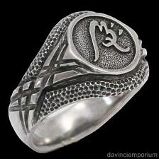 Sterling Silver Impact Ward Signet Ring The Demon Cycle