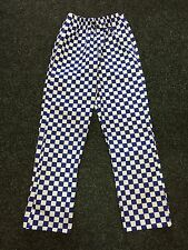 Chefs Trousers  Royal Check Various SIZES