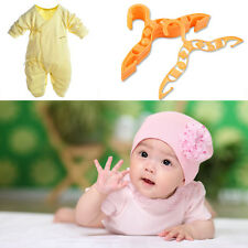 40 pcs Durable Plastic Coat Clothes Garment Trousers Hangers for Kids Baby BE
