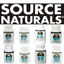 Source Naturals VITAMIN B all sizes - select option