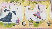 Wallpaper Border Bedtime Stories Books Magical Girls 13 Inch 20 yrds