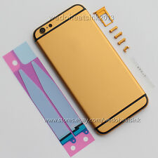 Gold + Black Stripes Replace Back Housing Cover for iPhone 6/6s iPhone 6/6s Plus