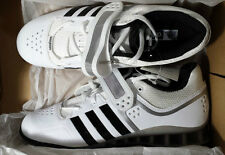 NEW: Adidas Adipower Olympic Weightlifting Shoes - White Black M25733