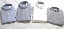 POLO RALPH LAUREN MEN'S LONG SLEEVE DRESS SHIRTS NWT 100% AUTHENTIC