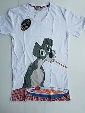 "PETER ALEXANDER MENS ""LADY AND THE TRAMP"" ""TRAMP"" SLEEP TEE PYJAMA TOP RRP$59.95"