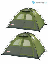 Coleman Instant Dome Tent 3 + 5 Man Person Pop up Quick Pitch Camping Family