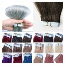 "16""18""20""22"" Seamles Skin Weft Tape In Indian 100% Remy Human Hair Extensions"