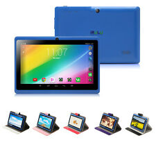 "7"" iRULU Android 4.4 Tablet PC 8G Quad Core 1024*600 Dual Cameras WiFi w/ Case"