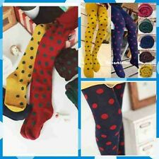 New Elegant Dots Winter Warm Cotton Children Girl kids toddlers Thick Leggings