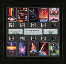 Star Trek The Cinematic Collection Film Cell Montage Limited Edition