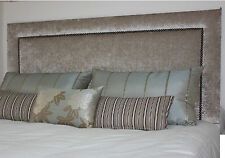 26 inch crushed velvet  Upholstered Headboard