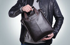 Men's Genuine Leather Handbag Messenger Shoulder Briefcase Laptop BAG Purse