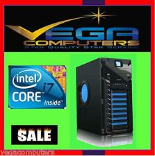 INTEL QUAD Core i7-6700 - 4.0 GHz GAMING DESKTOP 750W, 2GB Nvidia, 8GB Ram DDR4