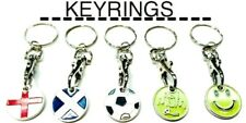 SHOPPING TROLLEY TOKEN TROLLIES £1 COIN KEYRING KEYCHAIN TOKEN TROLLEY KEYRING