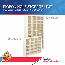 Pigeon Hole Shelving Unit, Office Storage, Letter Storage Pigeon Holes Shelf