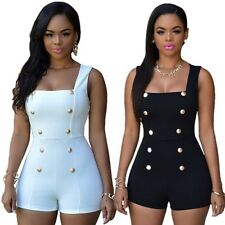 Fashion Womens Sexy Bodycon Bandage One Piece Jumpsuit Playsuit Romper Trousers