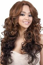 LXP EDIE - Motown Tress Synthetic Deep Part Lace Front Wig, Long Big Curl Style