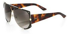CHRISTIAN DIOR ENIGMATIC /S SUNGLASSES QUI Brown Havana, HA Brown Gradient