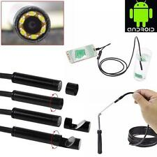 6 LED 5.5mm Lens Android Endoscope USB Inspection Video Tube Camera For Android