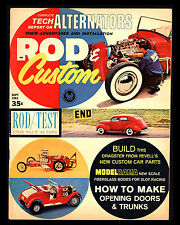 "VINTAGE 1962/SEPT ""ROD & CUSTOM MAGAZINE"" ALTERNATORS-1940 FORD-SHARP!"