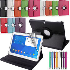 Leather Rotate Stand Case 360 Degree Rotating Smart Cover Folding Folio Flip