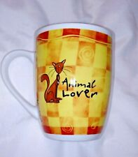 Cats Animals Lover Mug Coffee Tea Kittens Pets Felines Fine Porcelain H&H Cup