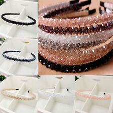Korean Classic Girls Chic Bead Crystal Unique Head Headband Head Piece Hair Band