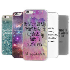 New Quirky Quotes & Sayings Shakespeare Motivational Hard Case Cover for iPhone