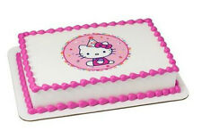 Hello Kitty edible image custom cake topper frosting sheet icing #38926
