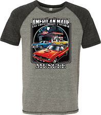 Mens American Made Muscle Tri Blend T-Shirt