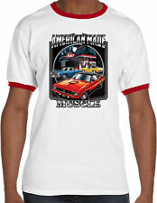 Plymouth Barricuda Mens American Made Muscle Ringer T-Shirt