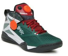 Mens REEBOK Pump BLACKTOP RETALIATE Basketball Shoes Green Red White MANY SIZES