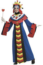 Playing Card Queen Of Hearts Poker Women Costume