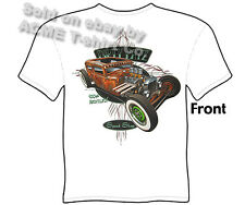 Hot Rods T Shirt 30 31 Rat Rod Tudor 1930 1931 Ford Tee Sedan Sz M L XL 2XL 3XL