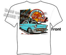 Chevy Shirt Chevrolet Clothing Classic Car Shirt Hot Rod Shirts Bel Air 1957 57
