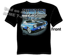 Camaro T Shirts Chevy Shirt Chevrolet Clothing Muscle Car Apparel 1969 Tee
