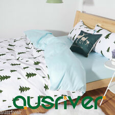Brand New Single/Queen Size Bed Quilt/Doona/Duvet Cover Set New 100% Cotton