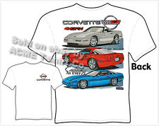 Corvette Shirts C4 Corvette Clothing Chevy T Shirts ZR-1 Chevrolet Apparel Vette