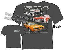 GTO Shirts 1965 1967 1969 Pontiac T Shirt 65 67 69 Muscle Car Sz M L XL 2XL 3XL